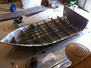 aluminum boat plans