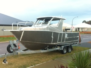 Aluminum Fishing Boat