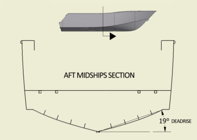 CNC Marine Deadrise_aft midships