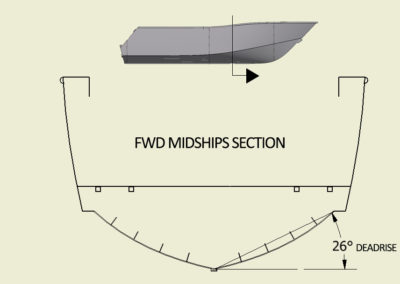 CNC Marine Deadrise_fwd midships